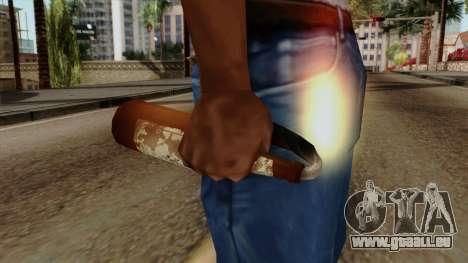 Original HD Molotov Cocktail pour GTA San Andreas troisième écran