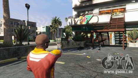 GTA 5 Asiimov Pistol.50 troisième capture d'écran
