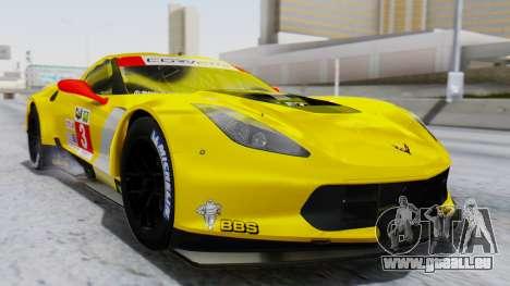 Chevrolet Corvette C7R GTE 2014 PJ1 für GTA San Andreas