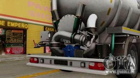 Trailer Kotte Garant für GTA San Andreas rechten Ansicht