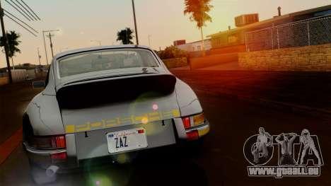 Porsche 911 Carrera RS 2.7 Sport (911) 1972 HQLM für GTA San Andreas zurück linke Ansicht