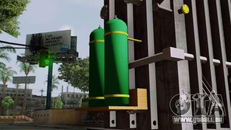 Transformado pour GTA San Andreas vue de droite