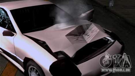 La dégradation des textures pour GTA San Andreas troisième écran