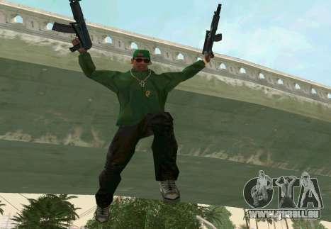 L'AKS-74U pour GTA San Andreas sixième écran