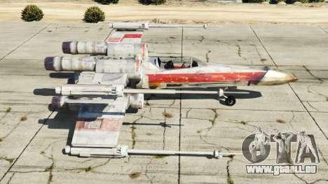 GTA 5 X-wing T-65 v1.1 deuxième capture d'écran