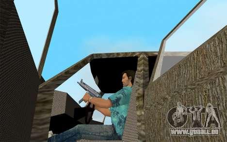 La Série Designer - Amiral pour GTA Vice City sur la vue arrière gauche