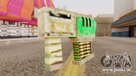 Warhammer Tec9 pour GTA San Andreas deuxième écran