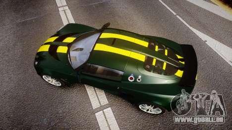 Lotus Exige 240 CUP 2006 Team Lotus pour GTA 4 est un droit