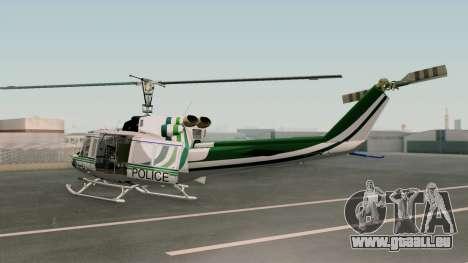 Bell UH-1N NAJA für GTA San Andreas linke Ansicht