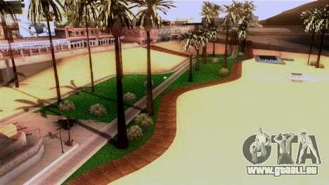 La plage de Los Santos pour GTA San Andreas