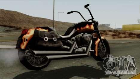 Freeway Diablo für GTA San Andreas linke Ansicht