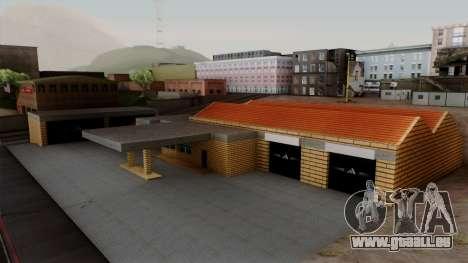 Neue Strukturen in der alten garage in Doherty für GTA San Andreas