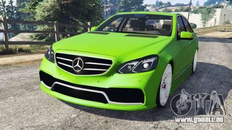 Mercedes-Benz E63 (W212) AMG v1.1 für GTA 5