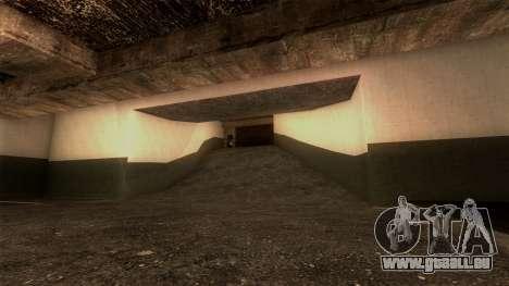 Nouveau LSPD Parking pour GTA San Andreas septième écran