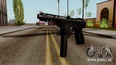 Original HD Tec9 für GTA San Andreas