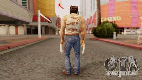 Wolverine v2 pour GTA San Andreas troisième écran