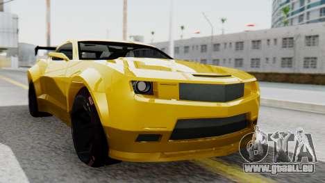 Chevrolet Camaro GT für GTA San Andreas