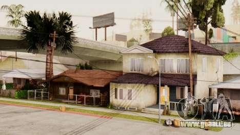 HD Grove Street pour GTA San Andreas quatrième écran