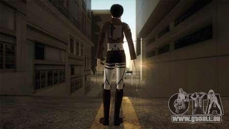 Eren Jaeger für GTA San Andreas dritten Screenshot