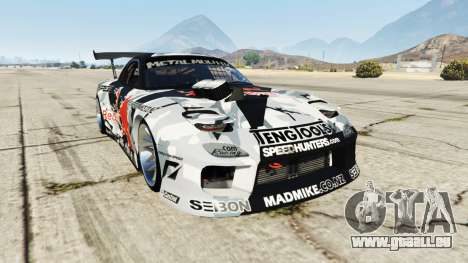 Mazda RX-7 MadMike pour GTA 5
