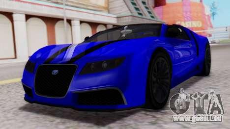 GTA 5 Truffade Adder Convertible für GTA San Andreas