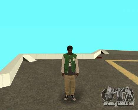 Le petit nouveau sur le bloc de grove Street pour GTA San Andreas