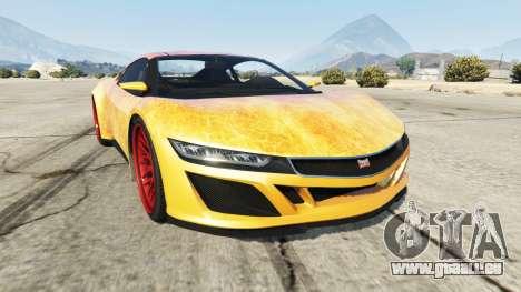 Dinka Jester (Racecar) Fire für GTA 5