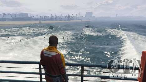 GTA 5 De grosses vagues v1.1 deuxième capture d'écran
