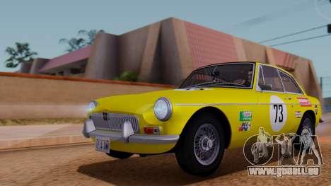 MGB GT (ADO23) 1965 FIV АПП pour GTA San Andreas moteur