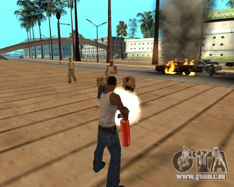 HQ Effects and Sun Final Version für GTA San Andreas sechsten Screenshot