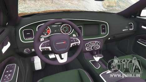 GTA 5 Dodge Charger RT 2015 v0.5 rechte Seitenansicht