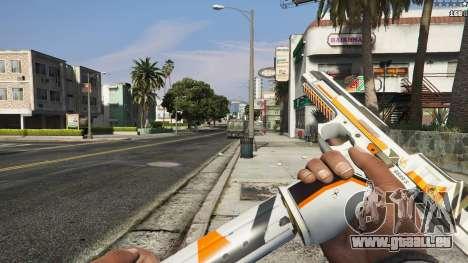 GTA 5 Asiimov Pistol.50 septième capture d'écran