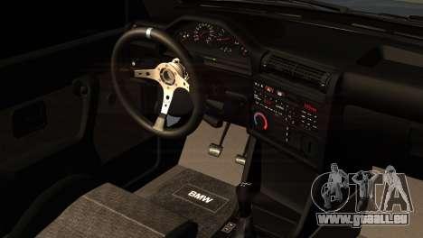BMW M3 E30 Cabrio für GTA San Andreas rechten Ansicht