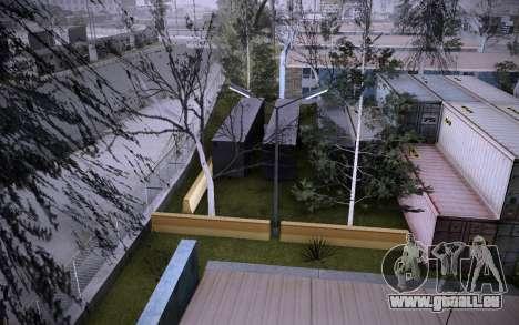 Bâtiment sur Grove Street v0.1 Beta pour GTA San Andreas neuvième écran