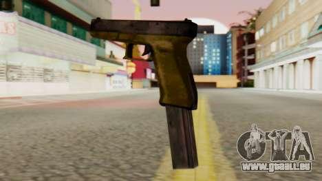 Glock 17 SA Style für GTA San Andreas zweiten Screenshot