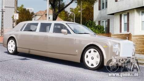 Rolls-Royce Phantom LWB für GTA 4 Seitenansicht
