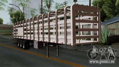 Trailer Rejas Gas pour GTA San Andreas