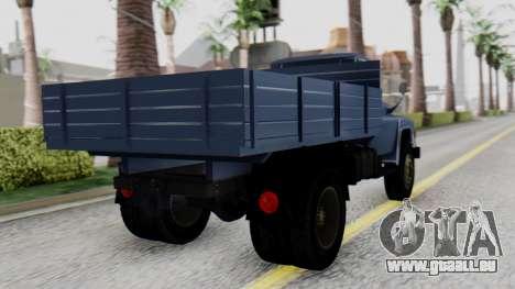 DAC 6135 Facelift pour GTA San Andreas laissé vue