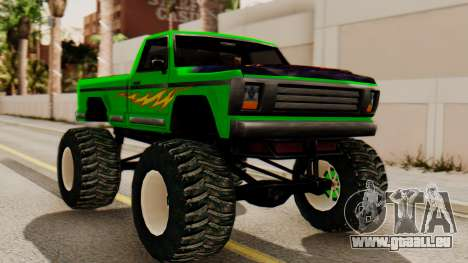 Monster New Texture pour GTA San Andreas