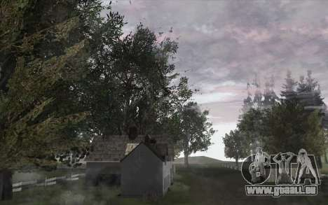 Les arbres à partir de WarFace pour GTA San Andreas