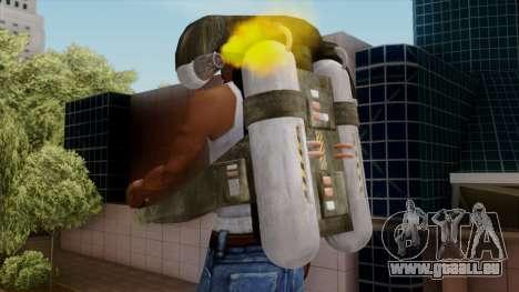 Original HD Jetpack für GTA San Andreas her Screenshot