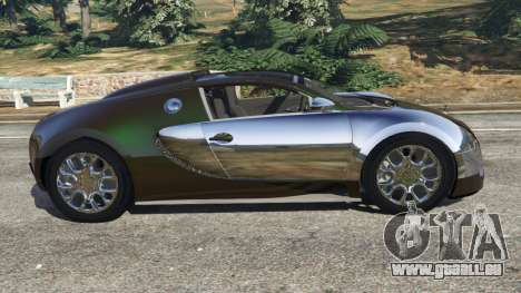 Bugatti Veyron Grand Sport v3.0 für GTA 5