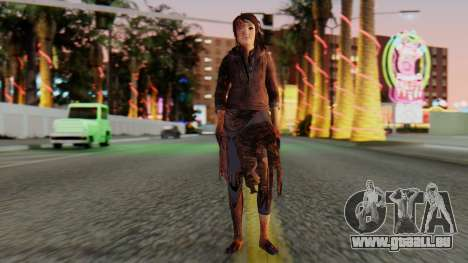 Born Child Girl pour GTA San Andreas deuxième écran