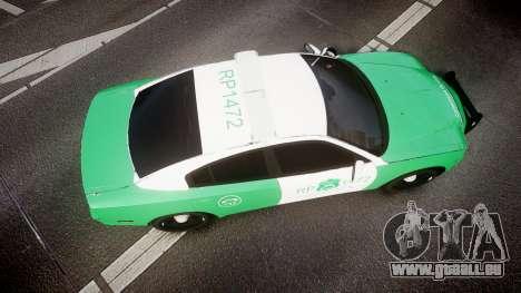 Dodge Charger Carabineros de Chile [ELS] für GTA 4 rechte Ansicht