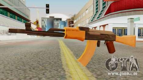 AK-74 SA Style pour GTA San Andreas