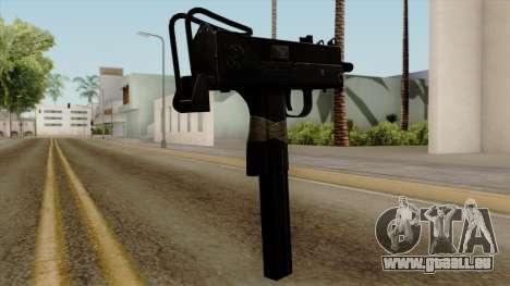 Original HD Micro SMG pour GTA San Andreas deuxième écran