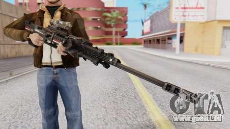 Sniper Rifle 8x Scope pour GTA San Andreas deuxième écran