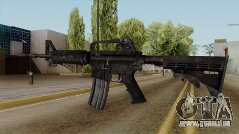 Original HD M4 für GTA San Andreas zweiten Screenshot