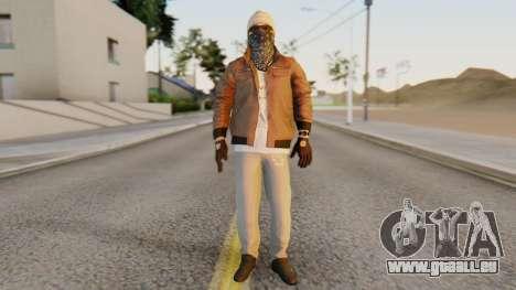 [BF Hardline] Gang Enforcer pour GTA San Andreas deuxième écran