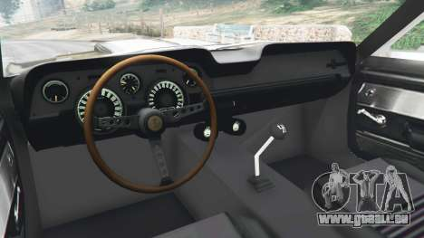 GTA 5 Ford Mustang GT500 1967 hinten rechts